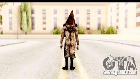 Silent Hill Downpour - Pyramid Head for GTA San Andreas third screenshot