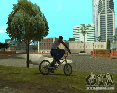 New HD Glen Park for GTA San Andreas sixth screenshot