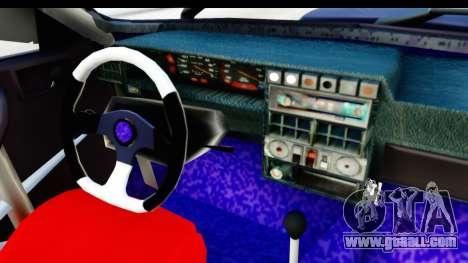 Dacia 1310 Berlina Tunata v2 for GTA San Andreas inner view