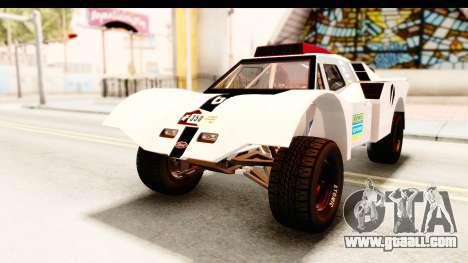 GTA 5 Desert Raid SA Lights for GTA San Andreas bottom view