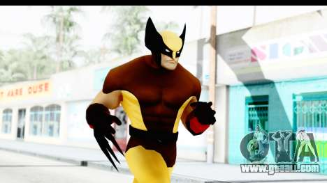 Marvel Heroes - Wolverine Brown for GTA San Andreas