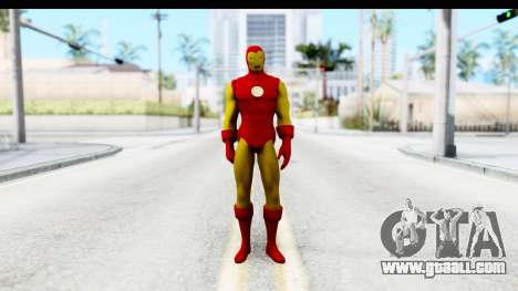 Marvel Heroes - Ironman for GTA San Andreas second screenshot