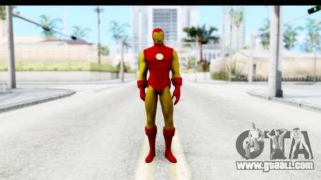 Marvel Heroes - Ironman for GTA San Andreas second screenshot