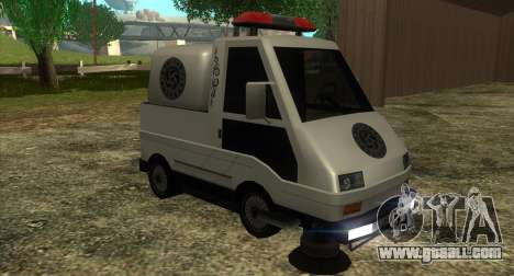 New Sweeper IVF for GTA San Andreas