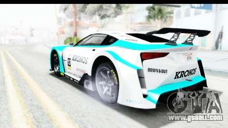 GTA 5 Emperor ETR1 v2 SA Lights for GTA San Andreas engine