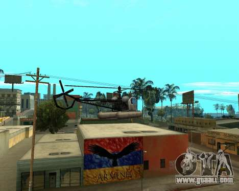 Grove Street Armenian Flag for GTA San Andreas forth screenshot