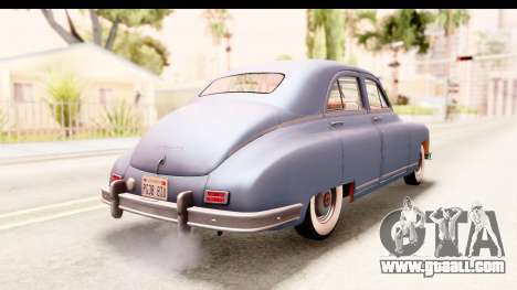 Packard Standart Eight 1948 Touring Sedan for GTA San Andreas left view