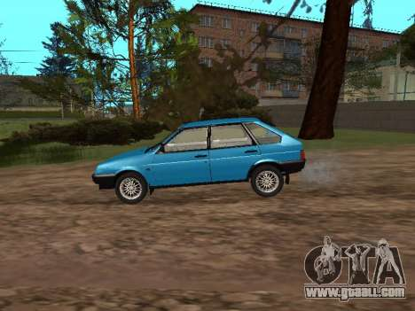 VAZ 2109 with alloy wheels for GTA San Andreas left view