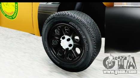 Chevrolet Silvedaro Basarnas for GTA San Andreas back view