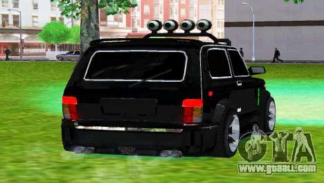 VAZ 21213 NIVA 4x4 TUNING for GTA San Andreas back left view