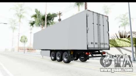 Trailer ETS2 v2 Old Skin 1 for GTA San Andreas left view