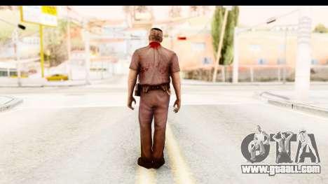 Left 4 Dead 2 - Zombie Policeman for GTA San Andreas third screenshot