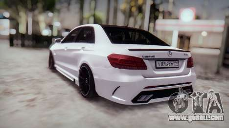 Mercedes-Benz E63 GSC for GTA San Andreas back view
