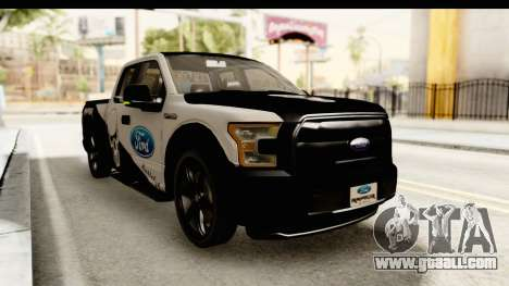 Ford F-150 Tuning for GTA San Andreas right view