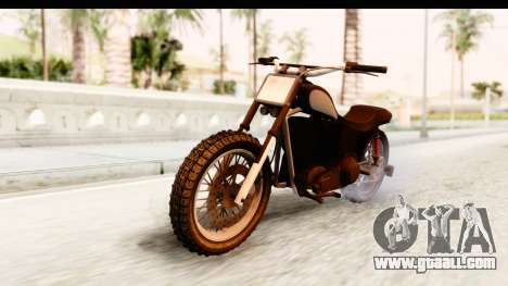 GTA 5 Western Cliffhanger Stock for GTA San Andreas right view