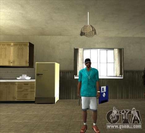Shirt Tommy for GTA San Andreas second screenshot