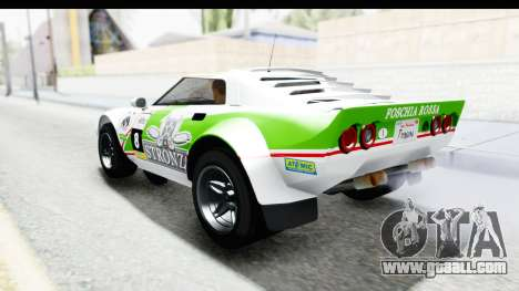 GTA 5 Lampadati Tropos SA Lights for GTA San Andreas interior
