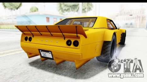 GTA 5 Declasse Drift Tampa for GTA San Andreas right view