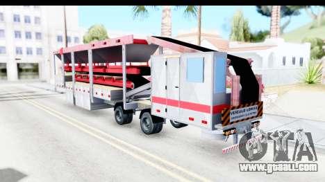 Trailer Brasil v6 for GTA San Andreas left view