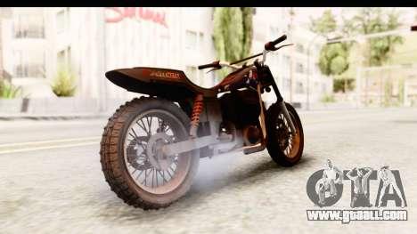 GTA 5 Western Cliffhanger Custom v2 for GTA San Andreas left view