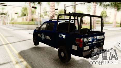 Ford F-150 Federal Police for GTA San Andreas left view
