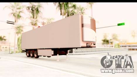 Trailer ETS2 v2 New Skin 2 for GTA San Andreas right view