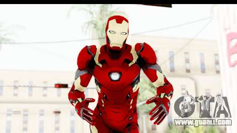 Marvel Heroes - Ironman Mk46 for GTA San Andreas