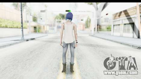 Life is Strange Episode 3 - Chloe Shirt for GTA San Andreas third screenshot