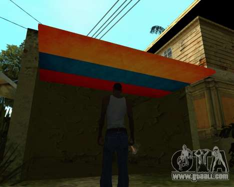 Garage CJ Armenian for GTA San Andreas third screenshot