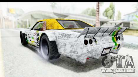 GTA 5 Declasse Drift Tampa IVF for GTA San Andreas wheels