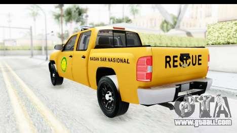 Chevrolet Silvedaro Basarnas for GTA San Andreas left view