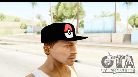 Cap Pokemon Pokeball for GTA San Andreas