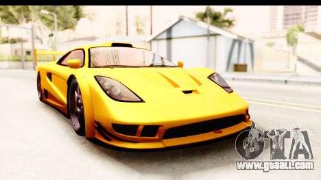 GTA 5 Progen Tyrus SA Style for GTA San Andreas left view