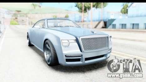 GTA 5 Enus Windsor Drop IVF for GTA San Andreas right view