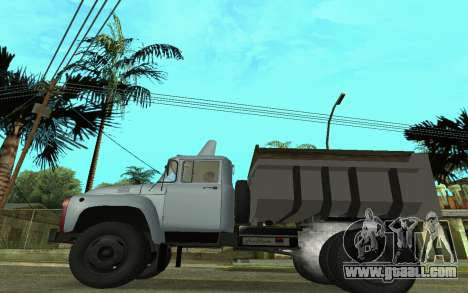ZIL-130 Armenia for GTA San Andreas left view