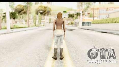 Helena Casual Skin for GTA San Andreas third screenshot