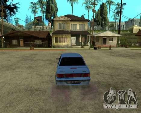 VAZ 21015 ARMENIAN for GTA San Andreas back view