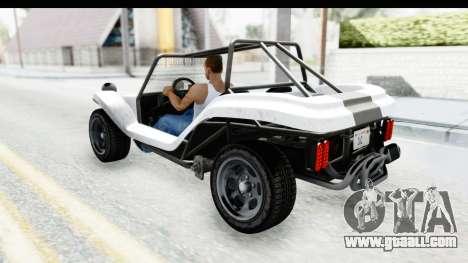 GTA 5 BF Bifta v2 SA Style for GTA San Andreas inner view