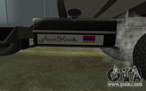 ZIL-130 Armenia for GTA San Andreas side view