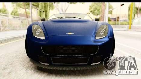 GTA 5 Dewbauchee Rapid GT for GTA San Andreas inner view