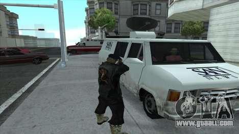 Newsvan Follow You for GTA San Andreas forth screenshot