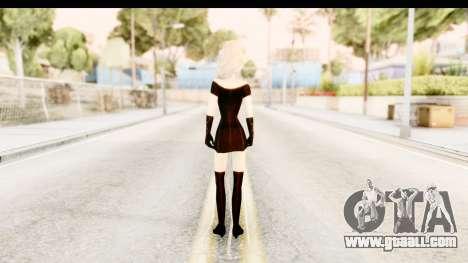Elsa Old Fashioned for GTA San Andreas third screenshot