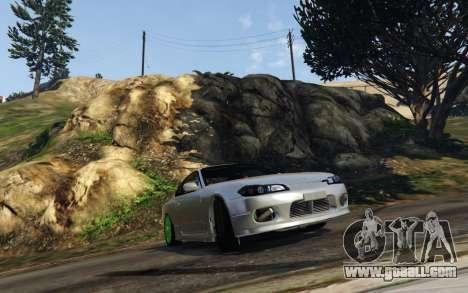 GTA 5 Nissan SIlvia S15 v0.9 wheel