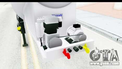Trailer Zement for GTA San Andreas inner view