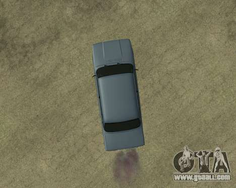 VAZ 2107 Armenian for GTA San Andreas upper view