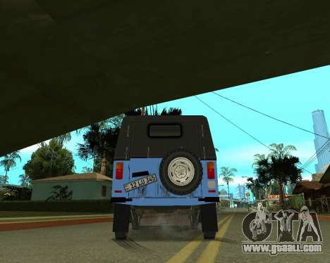 Luaz 969 Armenian for GTA San Andreas upper view