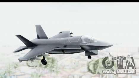 Lockheed Martin F-35B Lightning II for GTA San Andreas