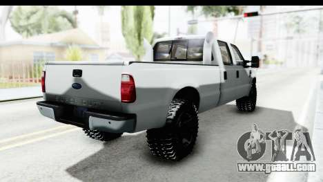 Ford F-350 Power Stroke for GTA San Andreas back left view