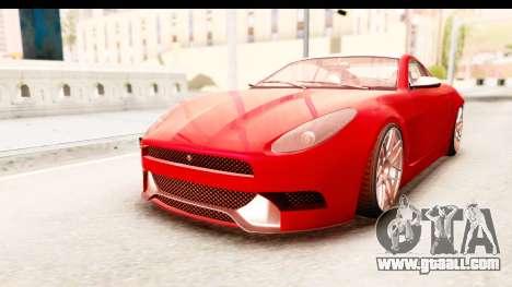 GTA 5 Ocelot Lynx IVF for GTA San Andreas