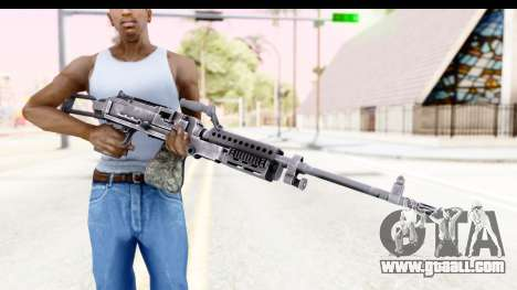 M240 FSK No Attachments for GTA San Andreas third screenshot